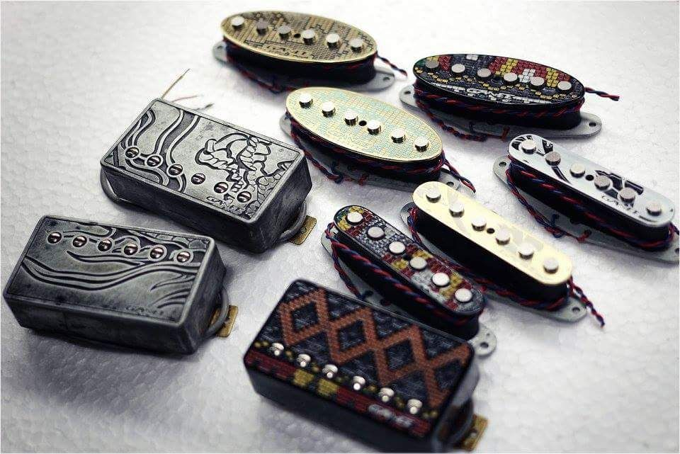 Ganee Pickups Indonesia With Images Guitar Tech Guitar