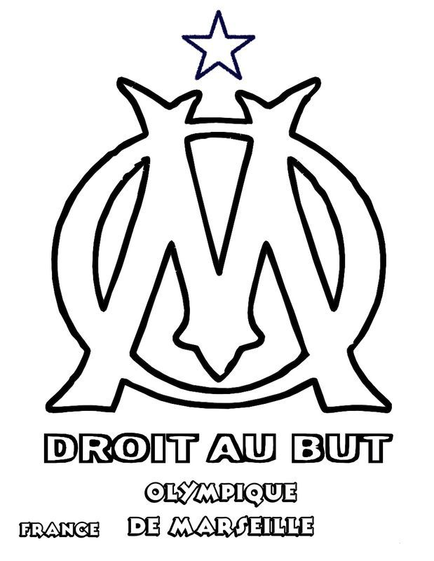 Olympique De Marseille Om Football Olympique De