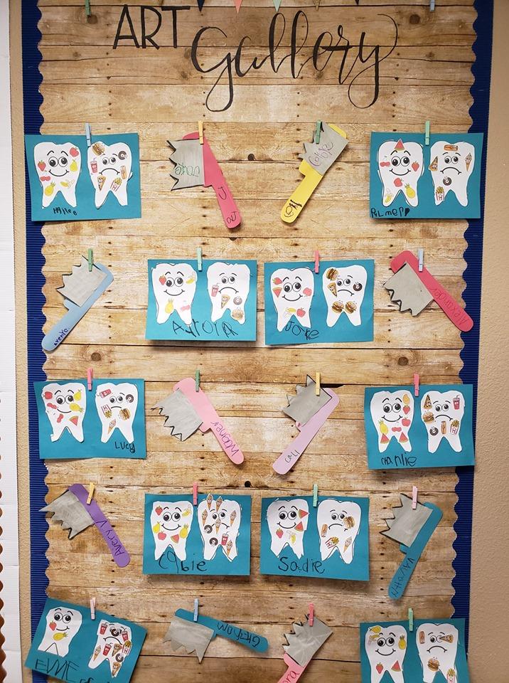 Vorschulaktivitäten und Kunsthandwerk zum Thema Zahngesundheit | TeachersMag.com   – Анатомия