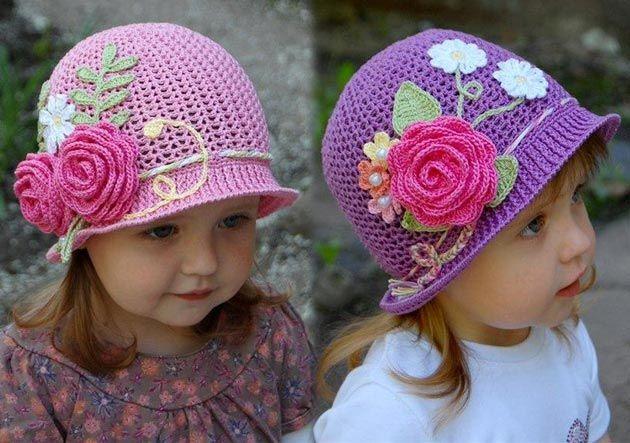 Los Niños Con Flores Panamá Gancho Descripción Esquemas De Tejer