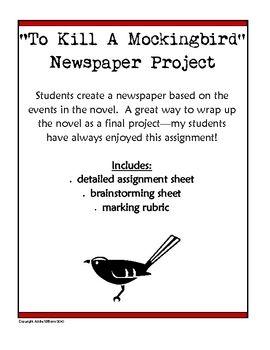 to kill a mockingbird newspaper article