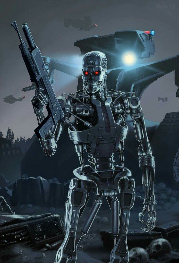 Terminator With Images Terminator Terminator Movies Robocop