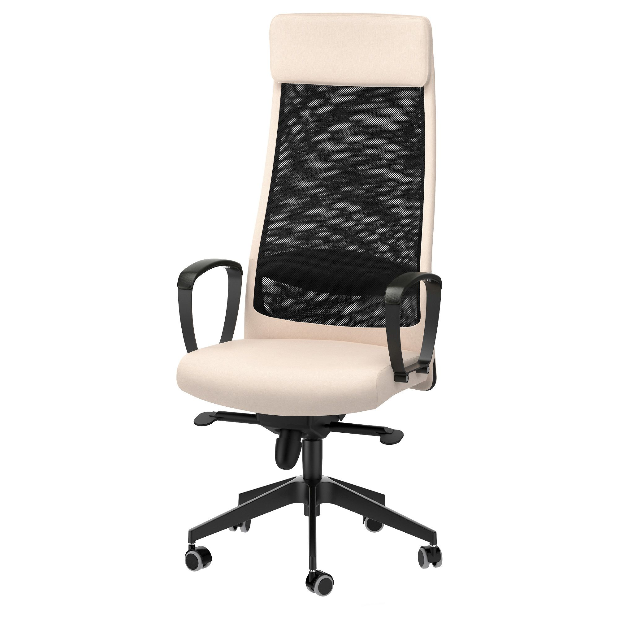 office chair controls. MARKUS Swivel Chair, Glose Black Robust Office Chair Controls 5