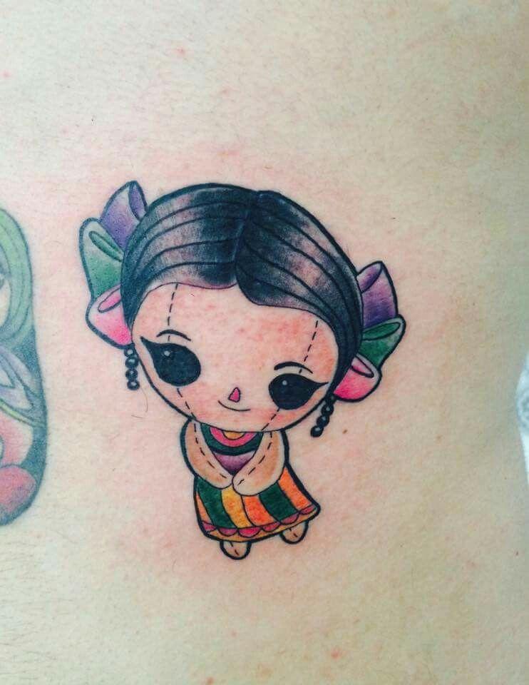 Mexicandoll Muñeca De Trapo Mexicana Tattoo Tatuadoresmexicanos