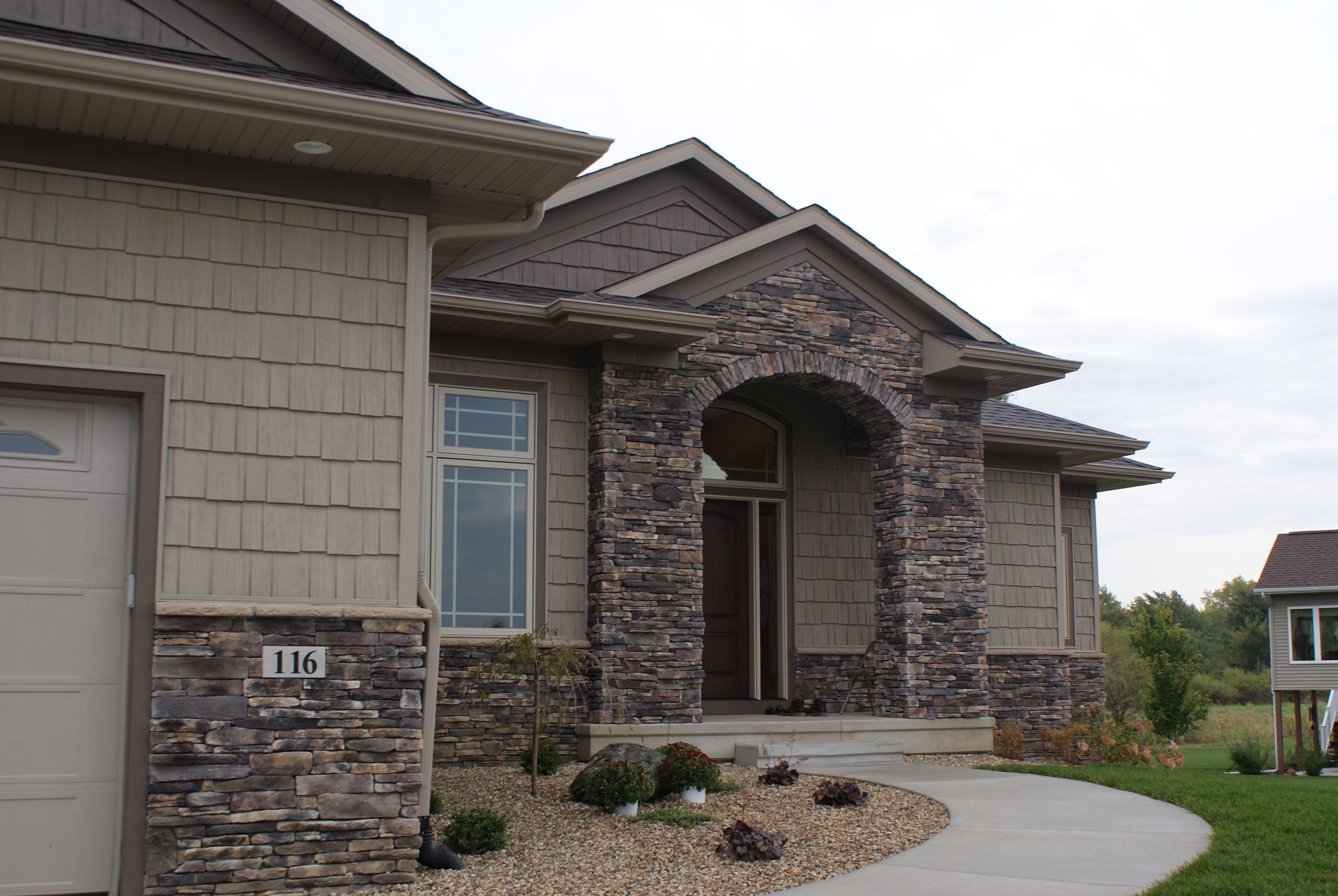 Winterhaven Pro Fit Alpine Ledgestone Cultured Stone Stone Boral Usa White Stone Veneer Facade House Stone Veneer Exterior Brick Siding