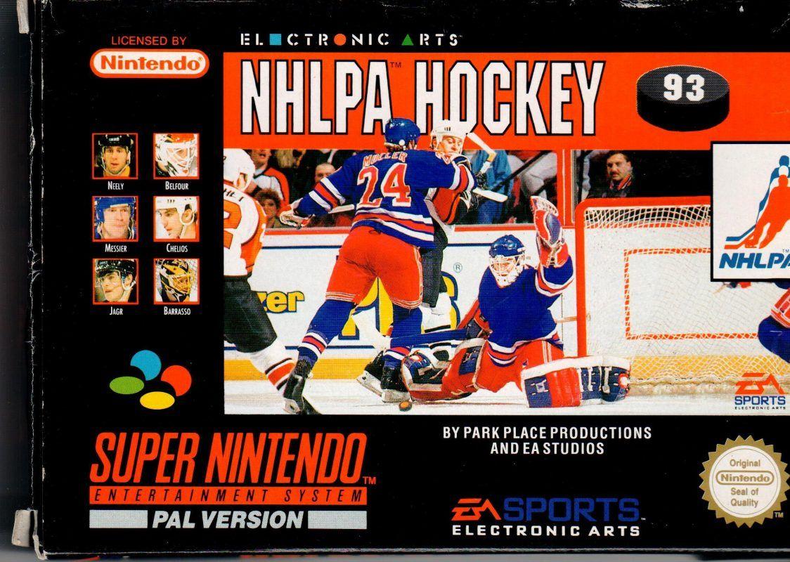 NHLPA Hockey Hockey, Electronic art, Entertainment system