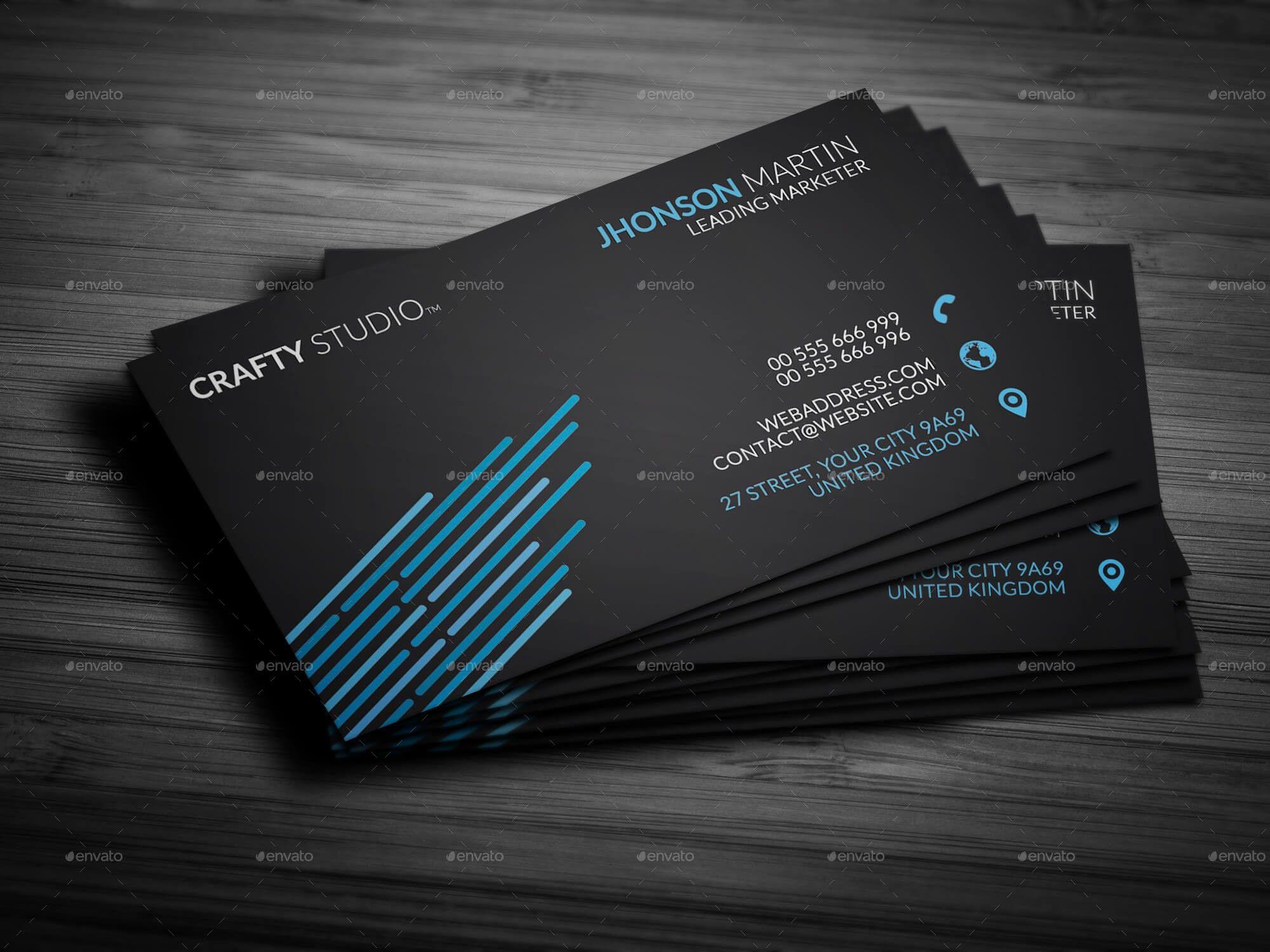 artist business cards vector