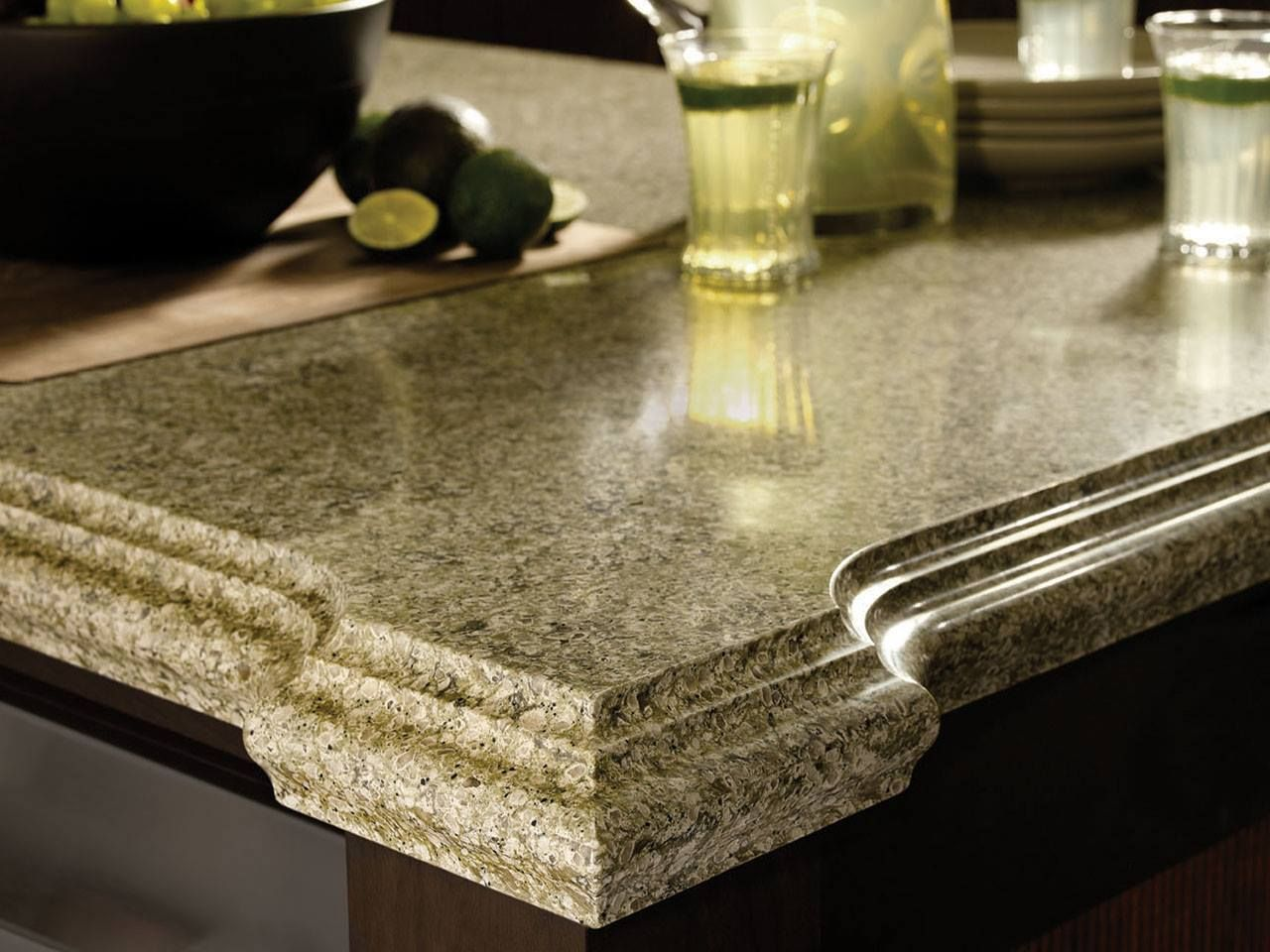 Find The Edge Design That S Right For You In Granite Marble Or