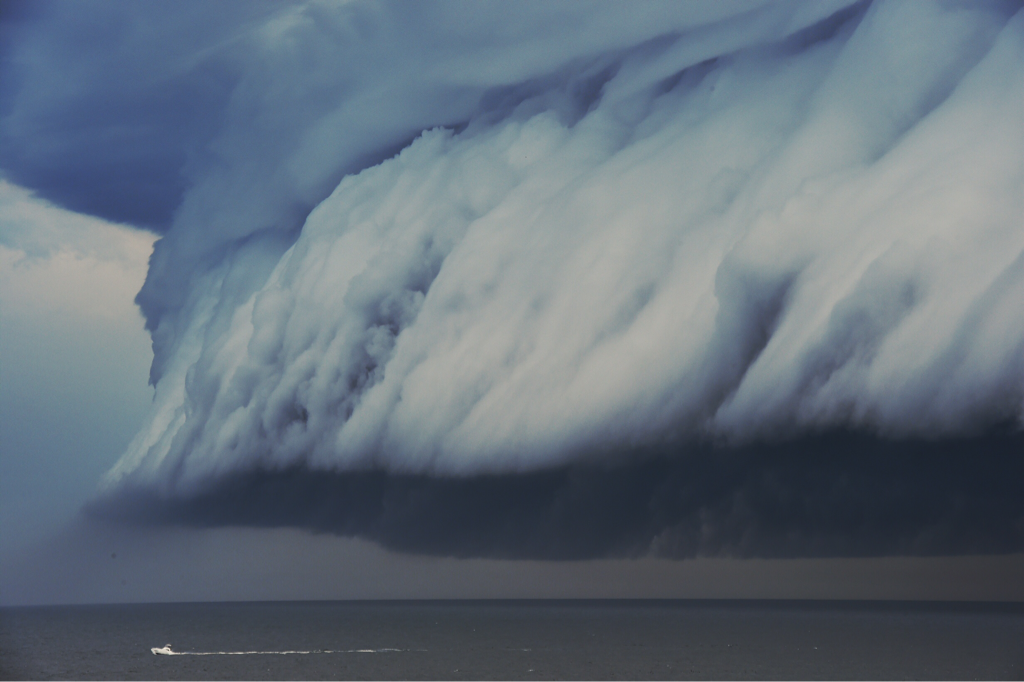 Elemental is a series of images of severe weather taken since 2000