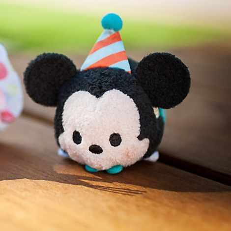Mickey Mouse Birthday 2016 Tsum Tsum Plush Mini 3 12