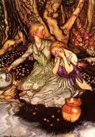 We all have our goblins.  That is part of the purpose of fairy tales, to help purge them.
