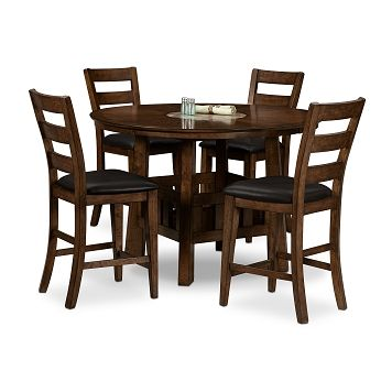 American Signature Furniture - Harbor Pointe Dining Room 5 Pc