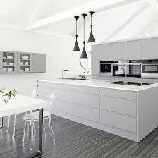 Resultado de imagem para white and grey kitchen