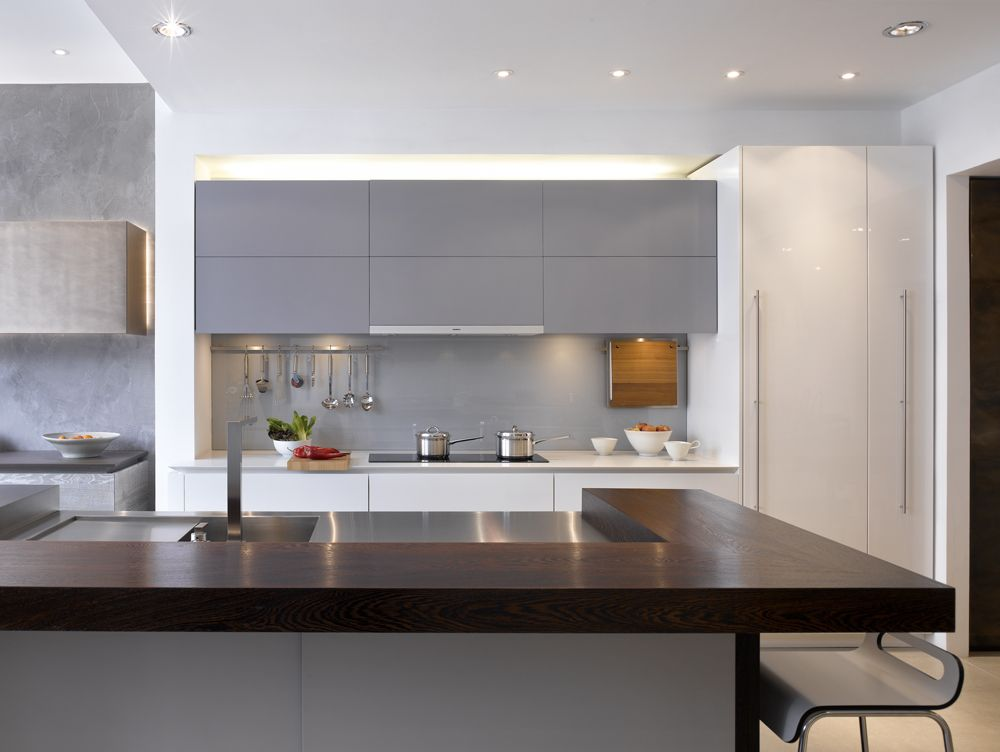 Extra Long Kitchen Island roundhouse bespoke island with extra-long drawers and large