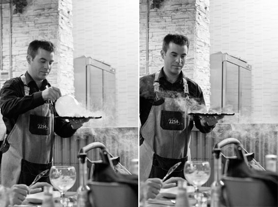 Mein Barcelona, Teil V | Nur 5 Zutaten Blog  Und zu guter Letzt 2254 – ein Restaurant, das erst seit Anfang 2015 seine Türen für die Gäste öffnete. 2254 km liegen zwischen Palermo und Barcelona. Palermo ist der Geburtsort des Chefkochs Nuncio Cona und die Zahlen 2254 sieht man hier überall – Mal auf dem Mofa, auf den Bildern der Telleruntersetzer oder auf den Champagnerbechern. Das Restaurant gehört zu meinem größten Favorit.