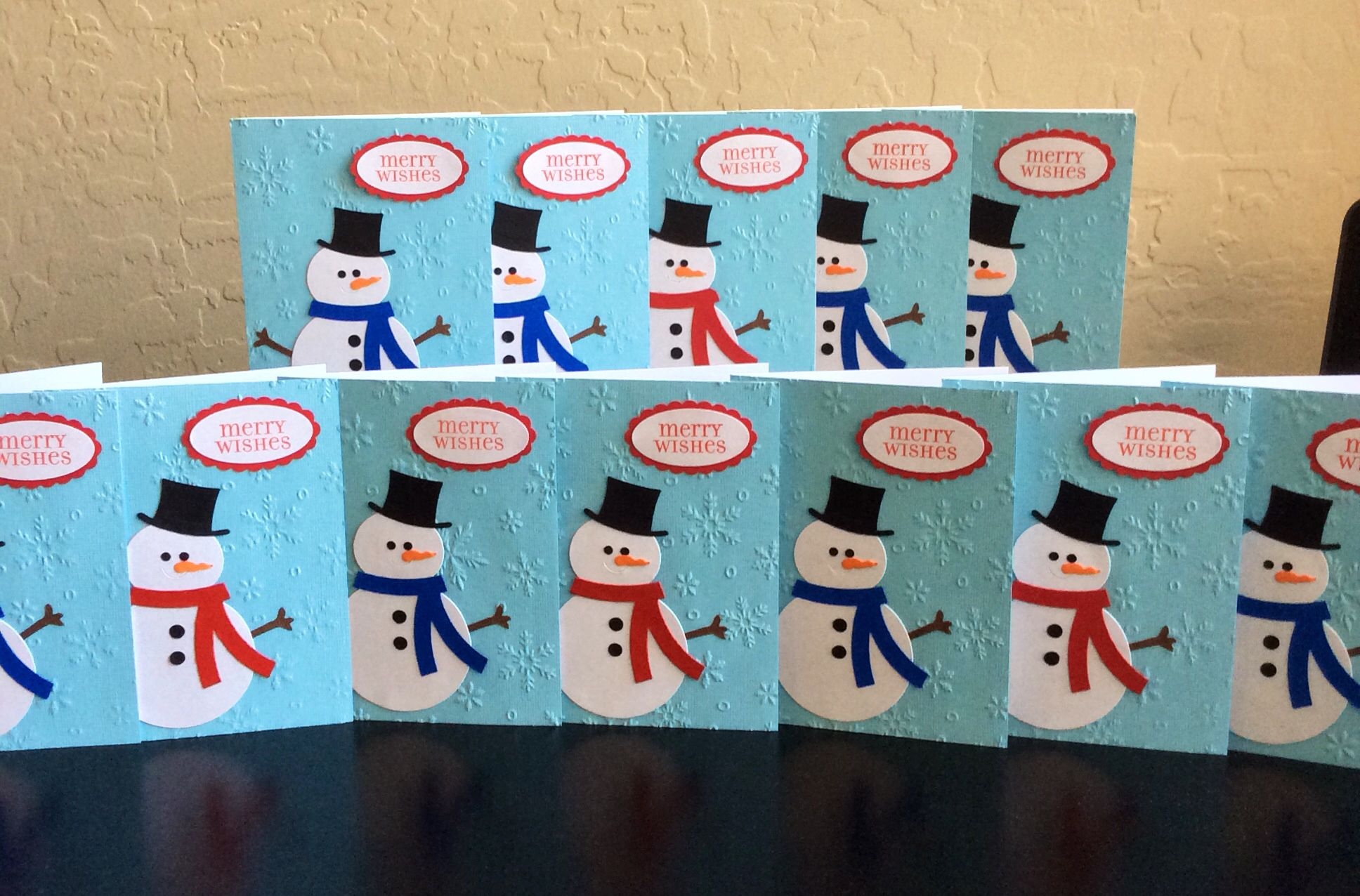 Holiday cards for the troops | Terry\'s Creations | Pinterest ...