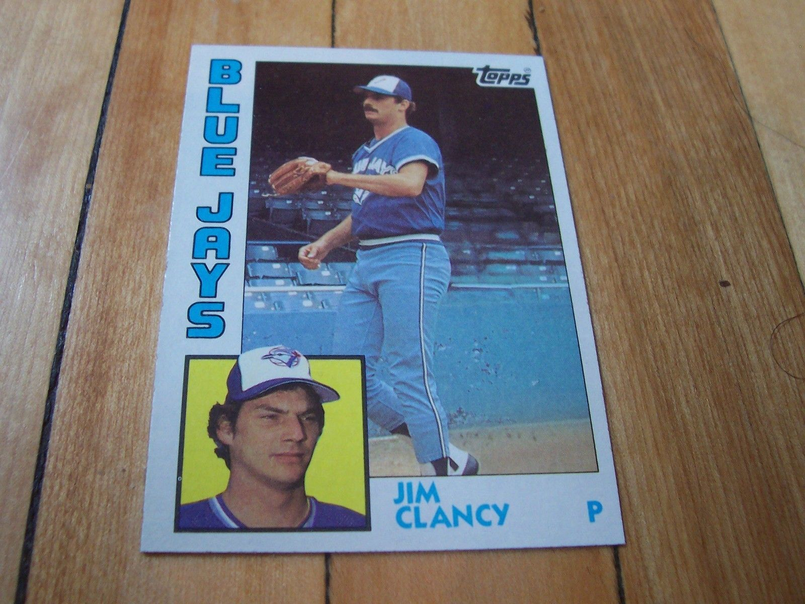 1984 Topps Card 575 Jim Clancy 1984 Topps Baseball Cards
