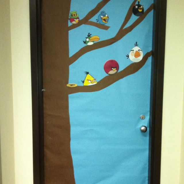 Angry Birds Classroom Door Decor Rooms For The Kids
