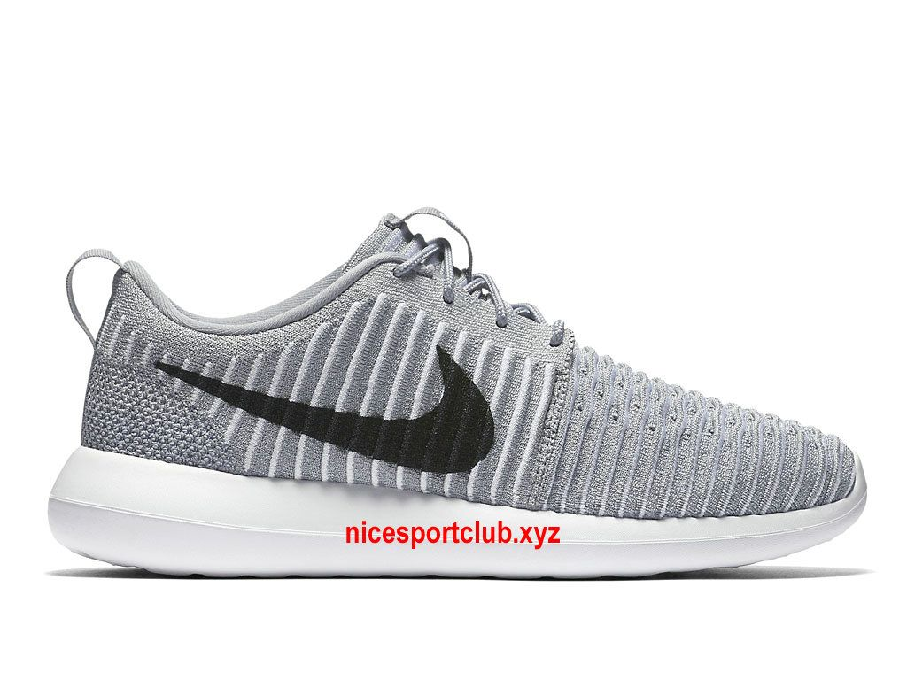 Chaussures Homme Nike Roshe Two Flyknit Prix Pas Cher Gris