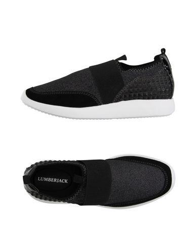 LUMBERJACK Women's Low-tops & sneakers Black 10 US