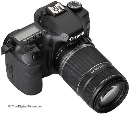 Canon EF-S 55-250mm f/4-5 6 IS Lens mounted on Canon EOS 40D