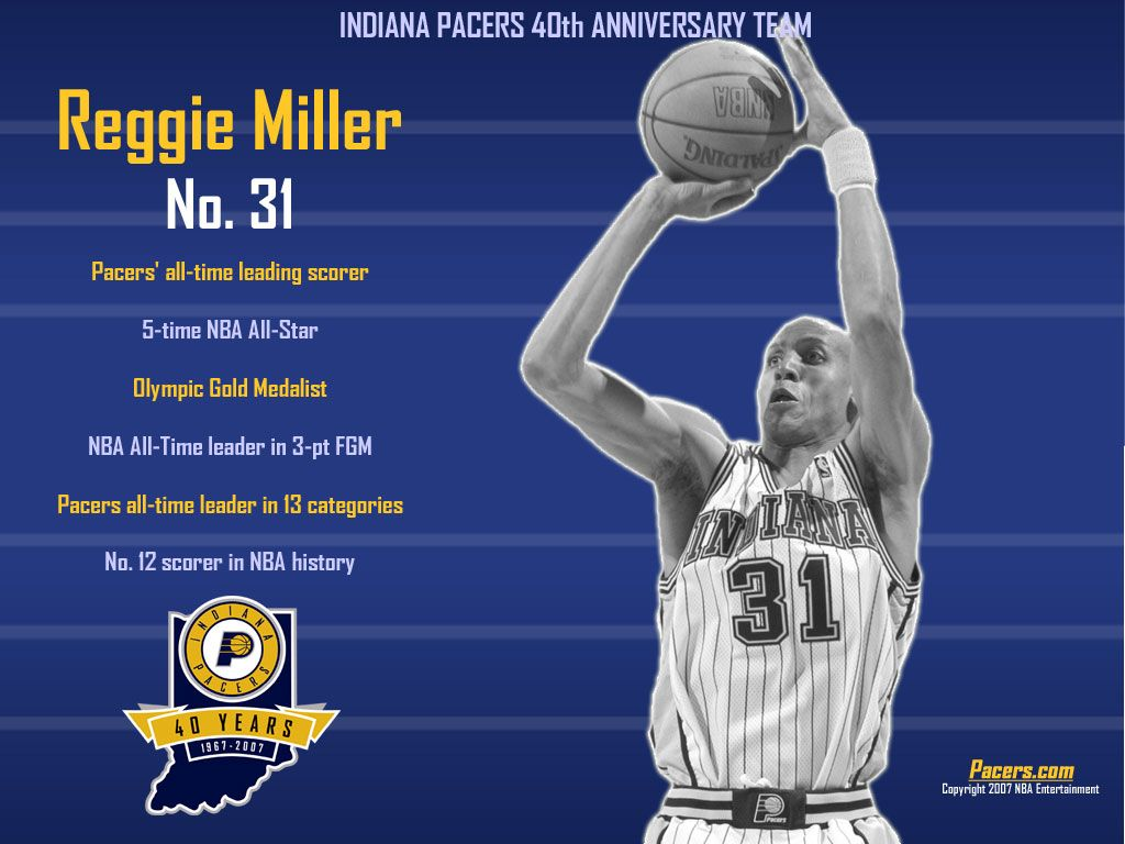 Indiana Pacers | Reggie Miller | Indiana Pacers | Nba
