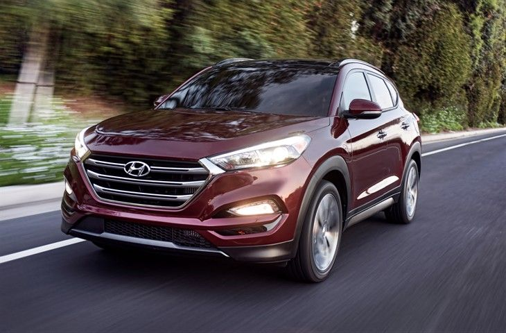 2016 Hyundai Tucson S Front View Proudly Presents A Hexagonal