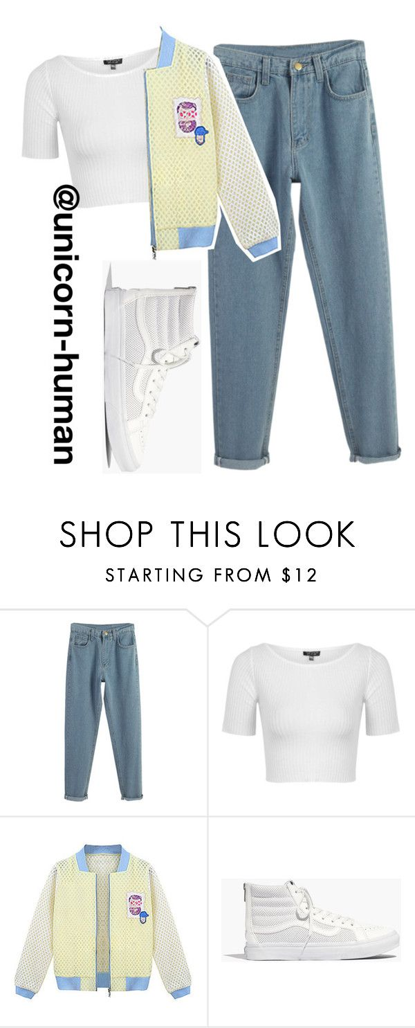 """Untitled #1162"" by unicorn-human on Polyvore featuring WithChic, Topshop and Madewell"