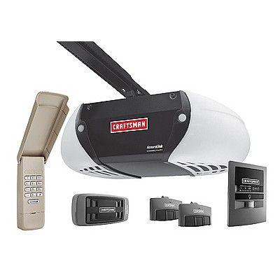An Iphone Controlled Garage Door Opener For Those Times You Leave The D Garage Door Opener Installation Garage Door Opener Repair Craftsman Garage Door Opener