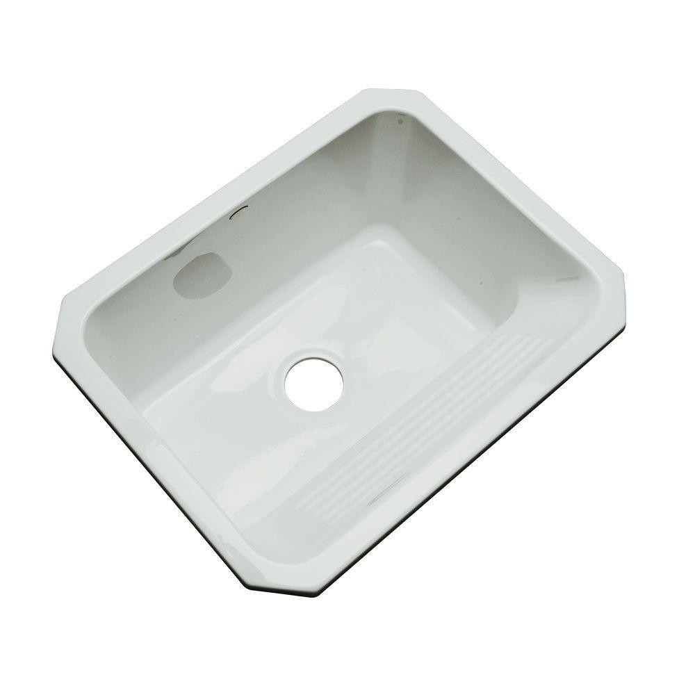 Thermocast Kensington Undermount Acrylic 25 In Single Bowl