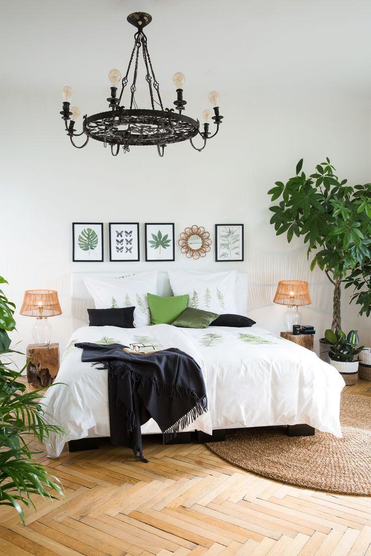 »Urban Jungle« Um Euer Schlafzimmer in eine exotische