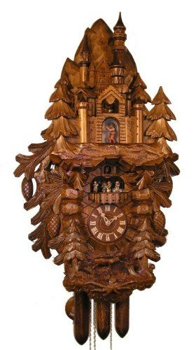 Adolf Herr Cuckoo Clock Neuschwanstein Castle Isdd Cuckoo Clocks Http Www Amazon Com Dp B003dc6bwi Ref Cm Sw R Pi Dp Cv Herrin Kuckucksuhren Neuschwanstein