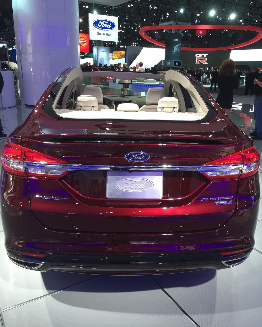 2017 ford fusion platinum went maybach and lost the roof nyias by car_zach
