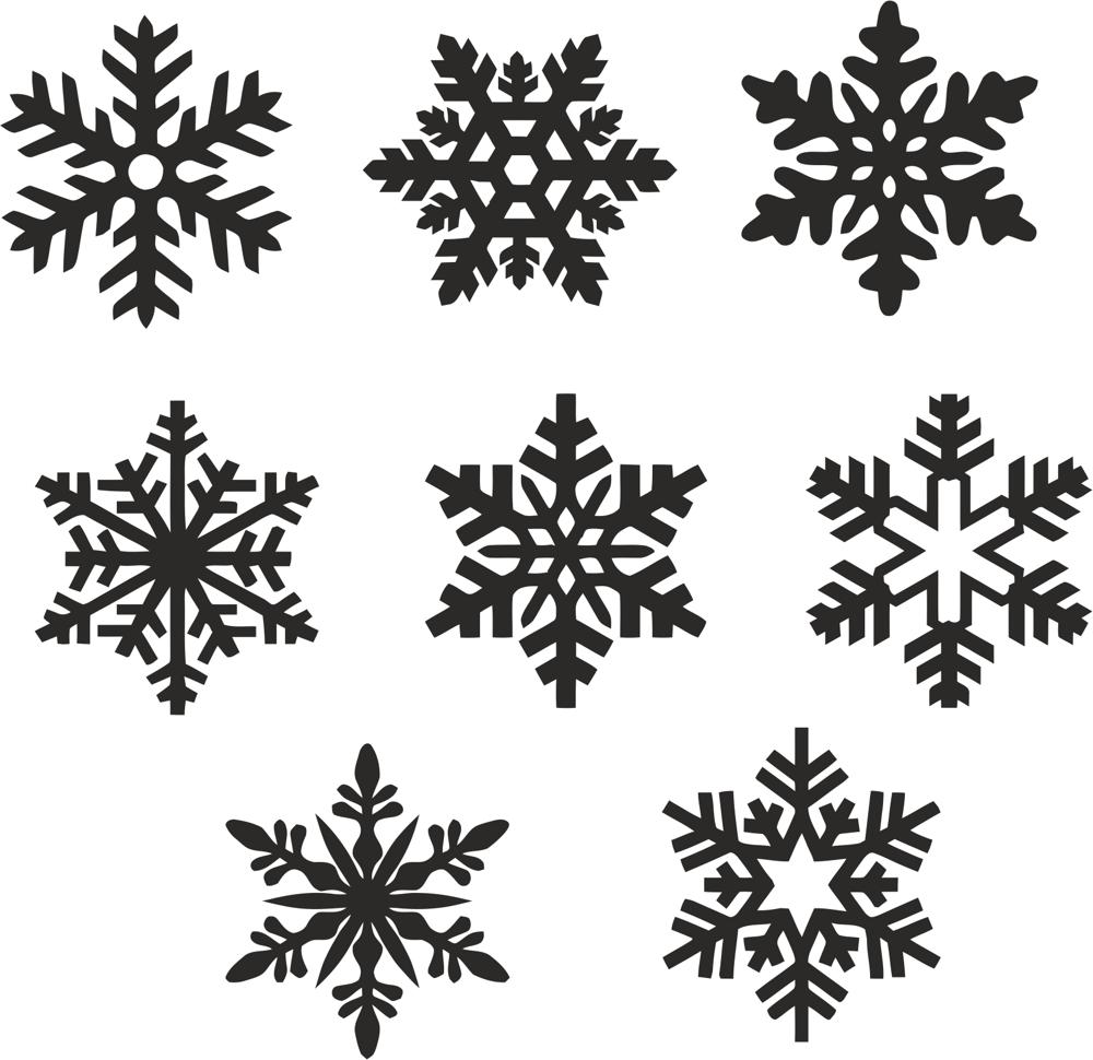 Christmas Snowflake Icons Set Vector Free Vector Cdr Download 3axis Co Giant Paper Flowers Template Snowflakes Vector Free