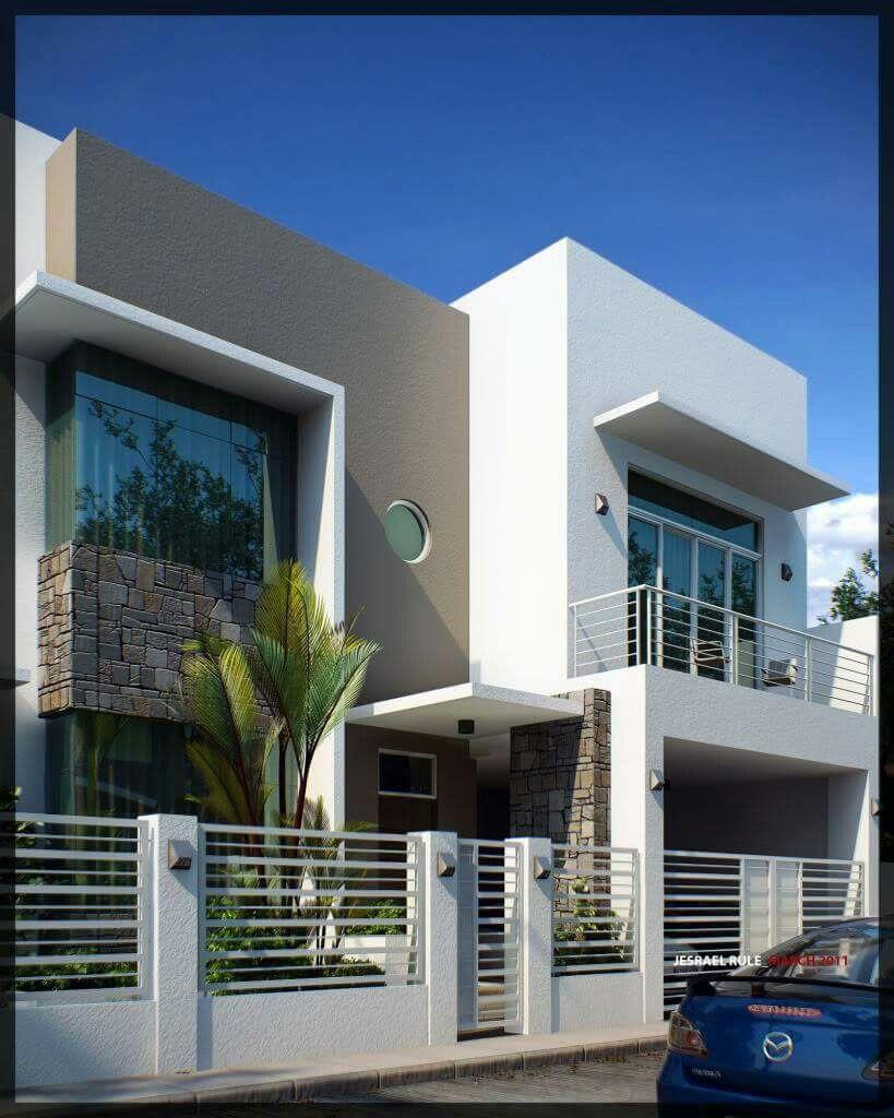 Arquitectura Fachadas De Casas Modernas Casas Modernas: Facade House, House Front Design