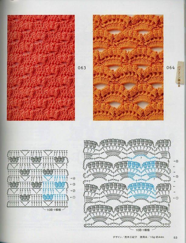 Ivelise Feito à Mão: Pontos Fantasia Em Crochê