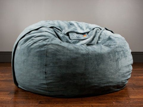 Lovesac The One With Seawater Rhinoplush Cover Seriously Considering Replacing Couch Of These