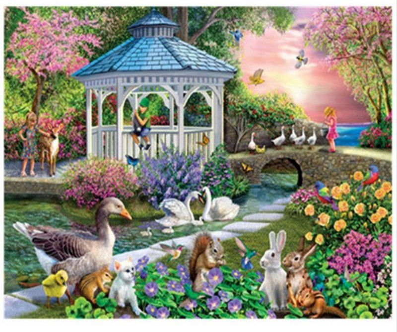 5D Diamond Painting B Staron Swan Lover Diamond Embroidery Painting Cross Stitch Kit 5D Diamond Painting Embroidery DIY Home Wall Art Decor