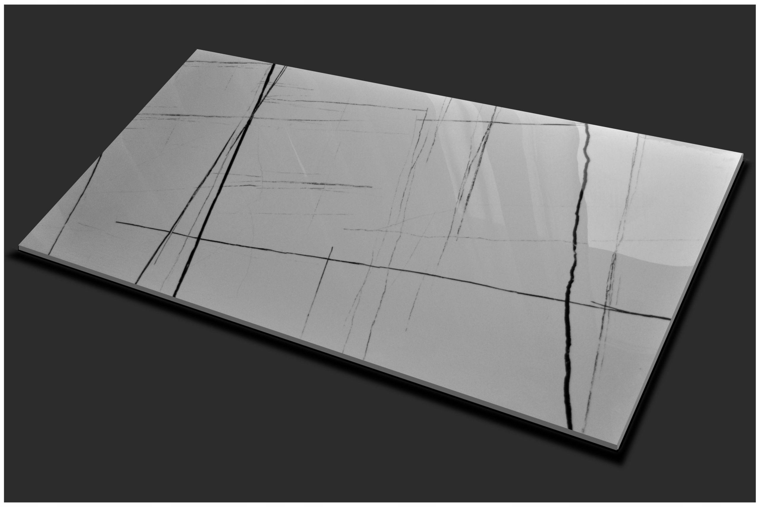 Plytki Podlogowe Gres Bialy Marmur 120x60 Ceral