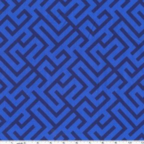 SALE....15% OFF Grand Bazaar from Patty Young, Corridors Midnight 1 yd total. $8.50, via Etsy.