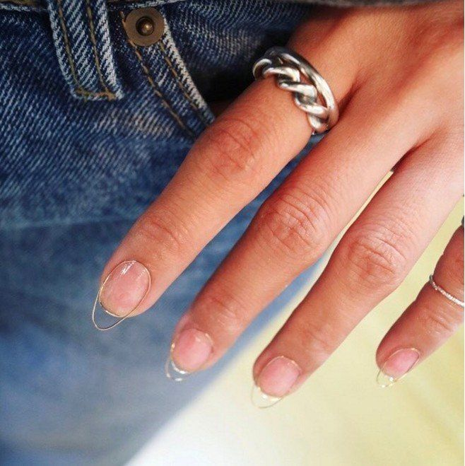The Wire Nail Art Trend Makes \