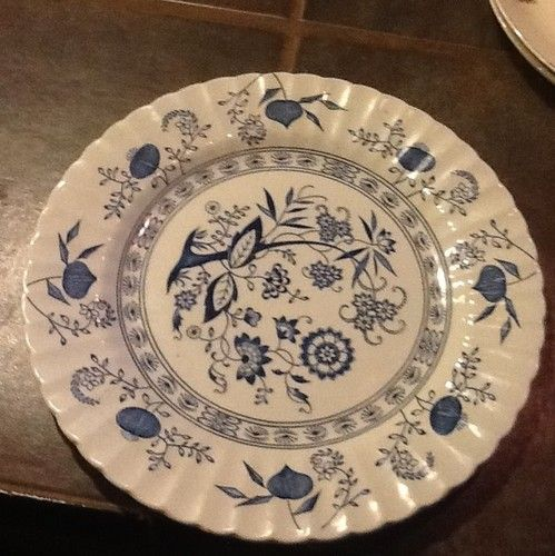 Meakin Platter Blue Nordic Vintage Mint Condition England Ironstone 12\  | eBay : peppermint dinnerware - pezcame.com