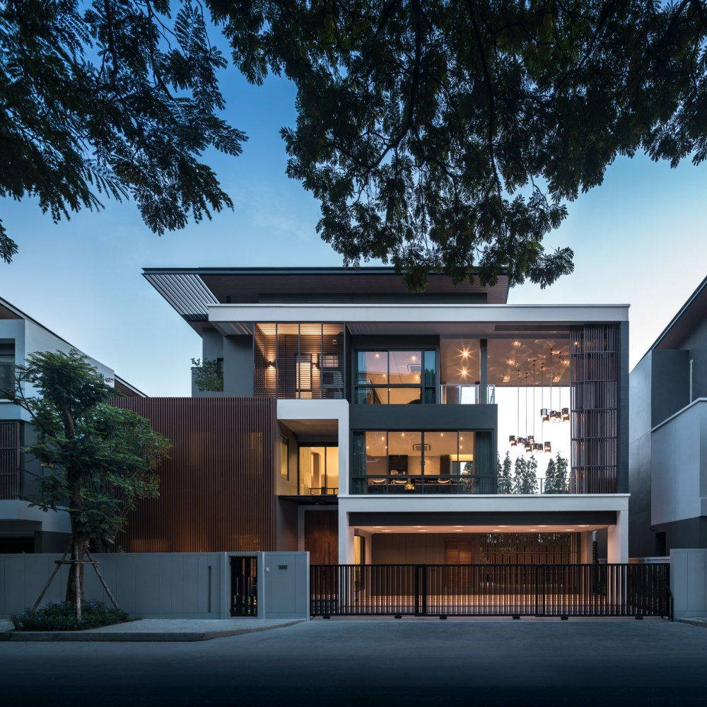 The gentry rama by sc asset wison tungthunya   workspace also architect house design rh pinterest