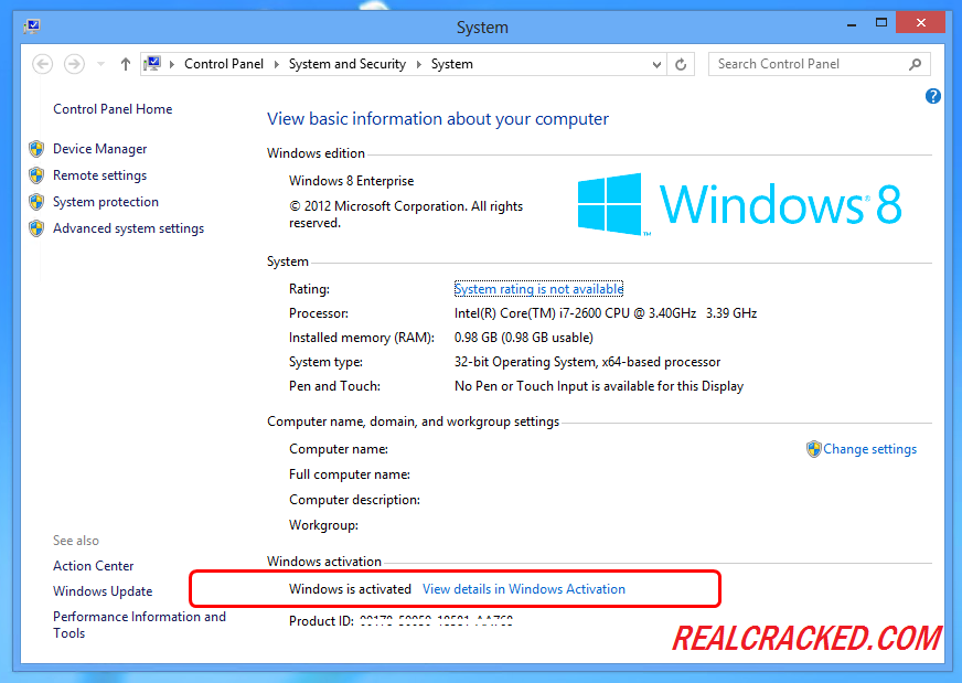 windows 8 activation software free download