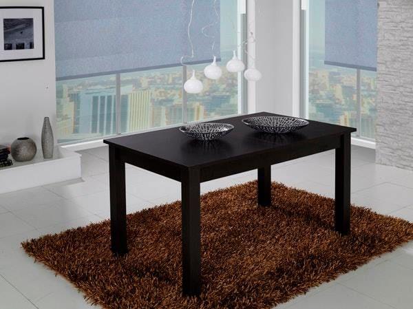 XL ESSTISCH Mit 4 Kunstlederstühlen (dunkelbraun) #interessen