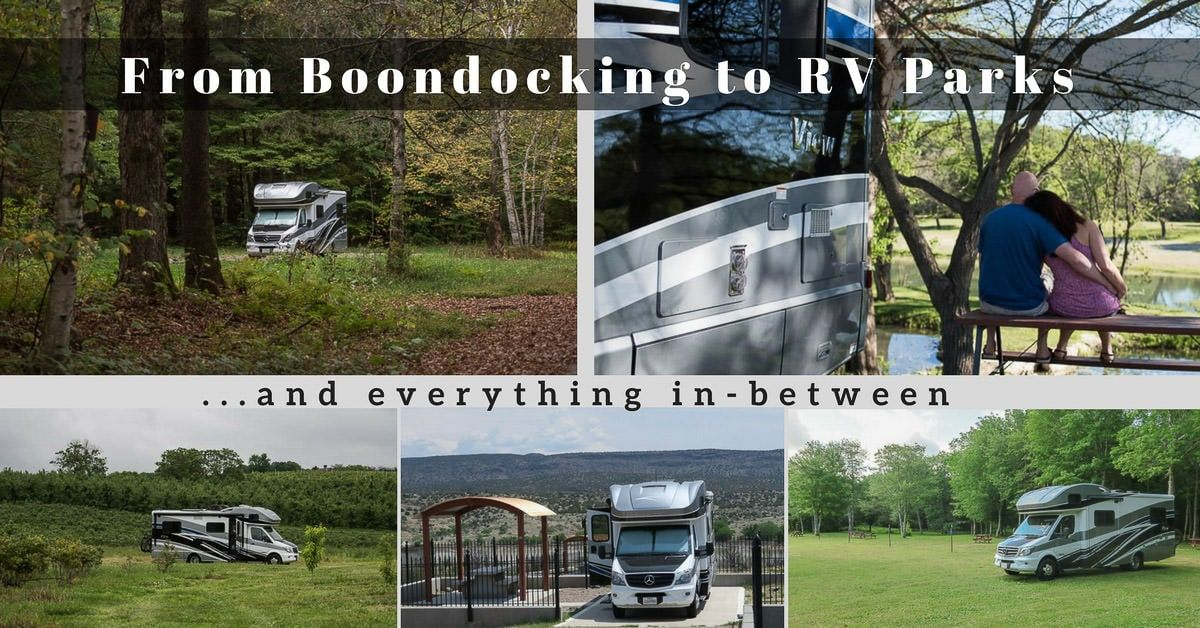 Trying to decide which type of overnight option will work best for you and your RV Camping Budget? Check out this comparison list for helpful tips!