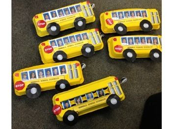 School Bus Craft Transportation Recycling Beginning Or End Of