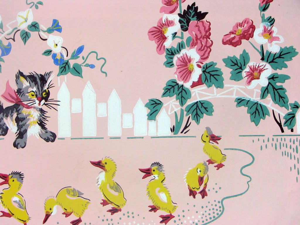 Vintage Nursery Wallpaper Photo This Was Uploaded By Zweigcd Find Other Pictures And Photos Or Upload Your Own With Ph
