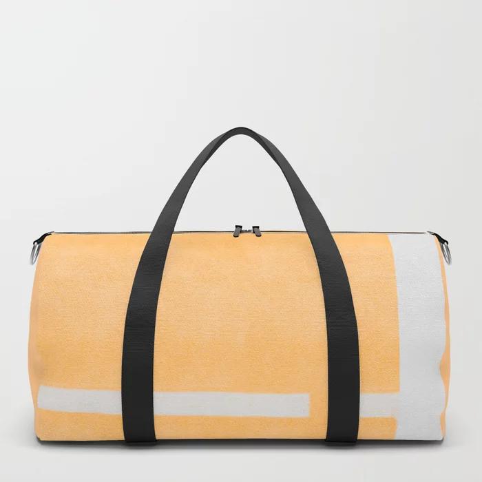 Yellow Contamination 4 Duffle Bag By Fernandovieira Society6 Bags Duffle Bag Duffle