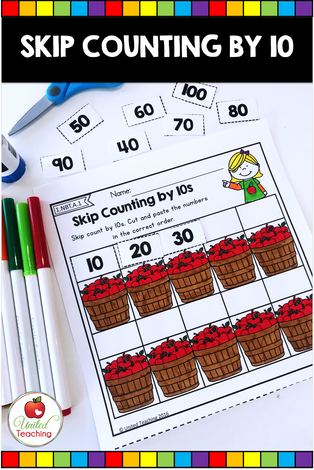 Fall Math Activities 1st Grade